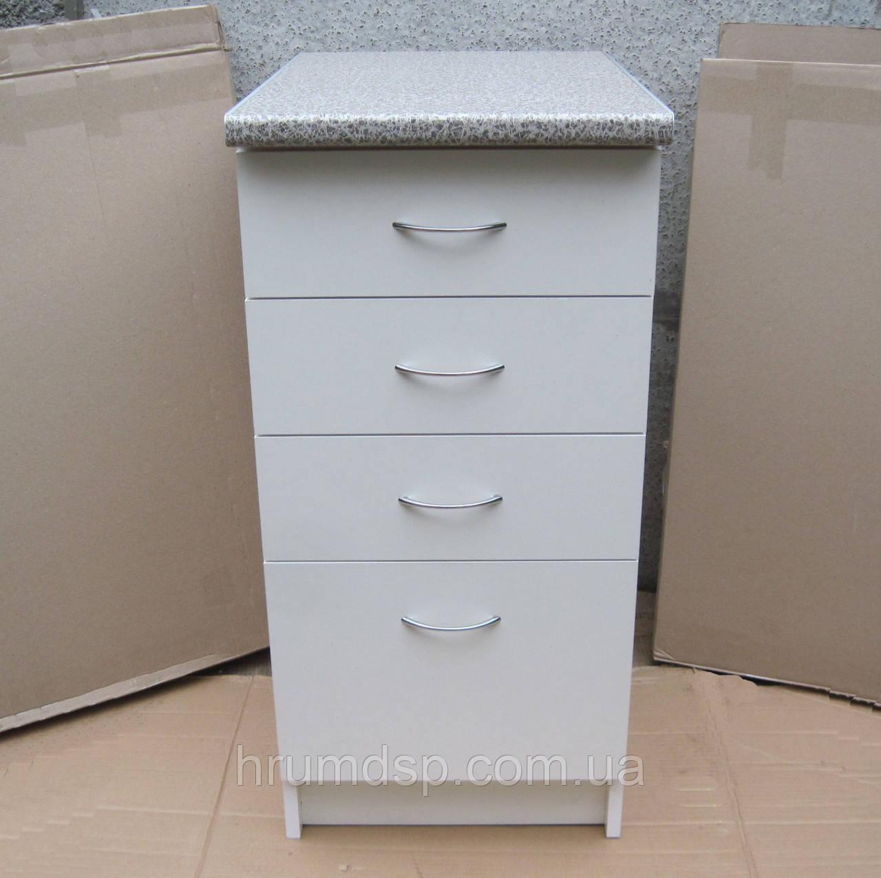 Тумба четыре ящика 40х60 (белая)