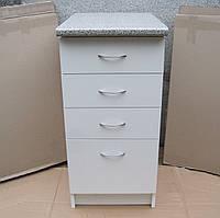Тумба четыре ящика 40х60 (белая), фото 1