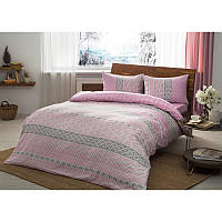 Постельное белье Тас Flanel - Betsy розовый евро