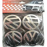 Колпачки заглушки на титановые диски VW 60/55 мм