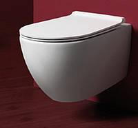 Унитаз без ободка Simas Vignoni +инсталяция Geberit Duofix(458.121.21.1)+кнопка хром+сиденье Soft-close