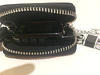 Ключница с чехлом и карабином, логотип Apple