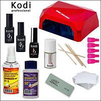 NEW!!! Стартовый набор гель-лаков Kodi для маникюра с Гибридной лампой