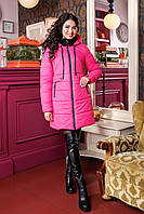 Женская зимняя куртка с меховым воротником (разные цвета)