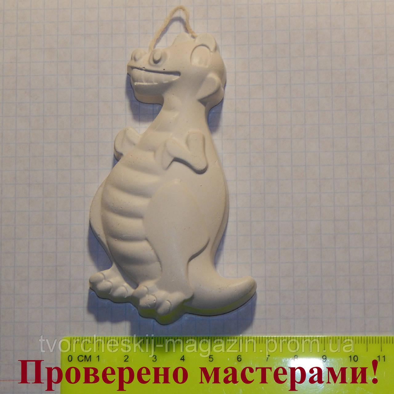 Гипсовая фигурка динозавр