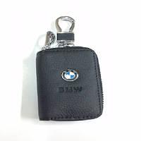 Ключница с чехлом и карабином, логотип BMW