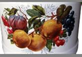 Ведро с поддоном и крышкой (12 л) Epos Фрукты, арт. 1324/2.1В