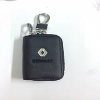 Ключница с чехлом и карабином, логотип Renault