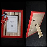 Настольная деревянная рамка для фото, 17х22 см., 150/130 (цена за 1 шт. + 20 гр.)