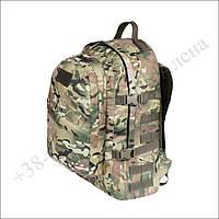 Тактический, туристический, городской рюкзак 40 литров мультикам для военных, рыбалки, нейлон