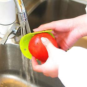 Многофункциональный двойными бортами Овощной Фрукты Кисть Картофель Морковь Щетка для очистки Теплоизоляция Мат