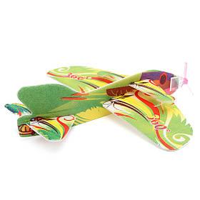Детский мини-поделки пены рука метание летающих самолет самолет планер игрушки