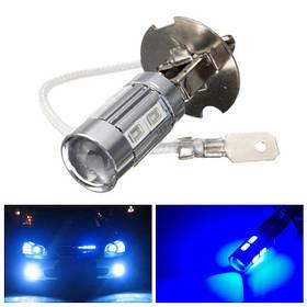 H3 5730 LED лампы 10smd ультра синий вождения противотуманные фары