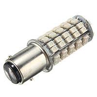 Тысяча сто пятьдесят семь BAY15d 68 SMD 3528 янтарный тумана автомобиля хвост остановка LED тормоз лампочки