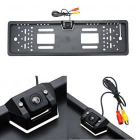Автомобильная камера заднего вида водонепроницаемый рамка номерного знака автомобиля обратно зрителя для парковки лицензии европы