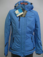 Куртка Columbia синяя женская 534