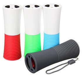 Универсальный водонепроницаемый Bluetooth портативный динамик 4000mAh Power Bank открытая спортивная применимо для смартфонов