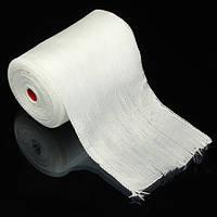 10X300cm Изоляция Теплостойкость Волоконно Стеклянная ткань Сетчатая лента Обычная плетеная лента