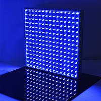 14w квадратных полный синий LED растениеводство свет теплиц завод рассады лампы