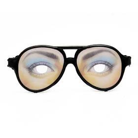 День веселые эмоциональные глаз очки унисекс Хэллоуин Дурака