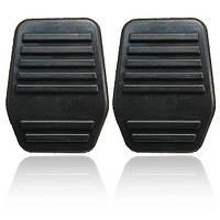 Пара педалей колодки резиновым покрытием для Ford Transit Mk6 MK7 2000-2014 черного