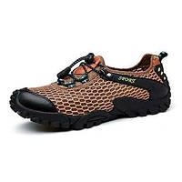 Для мужчин Спортивная обувь Удобная обувь Синтетика Тюль Лето Осень Для прогулок Повседневный Для занятий спортом Для пешеходного туризма 05910211