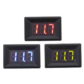 0,36 дюймов DC 0-30V 3 Провод LED Вольт Meterr Digital Дисплей Панельный вольт Meterr