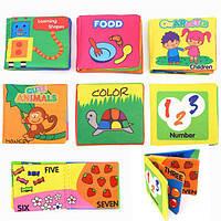 Разведки развития ткань познать Английский руки книга раннего образования игрушка для ребенка Детские