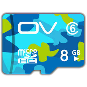 OV Камуфляжная версия класса 6 8GB SDHC Micro SD Card TF карта для сотового телефона