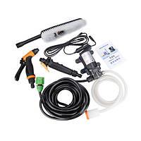 12V высокого давления Электрический насос автомойка машины разбрызгиватель воды с зажигалкой