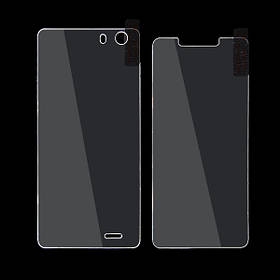 Оригинальные передние и задние закаленное стекло протектор экрана для елефон s2 плюс