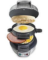 Завтрак сэндвич гамбургер создатель машины быстро удобно бытовой техники