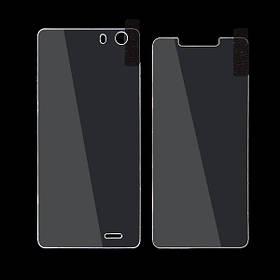 Оригинальные передние и задние закаленное стекло протектор экрана для елефон s2