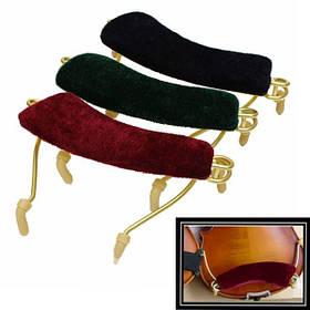 3 цвета профессиональный мягкая весна площадку плеча отдых для 3/4 и 4/4 размера скрипки