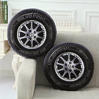 40см с хлопок 3d форма шины для легковых автомобилей подушки колеса автомобиля талии подушками домашний офис диван Декор