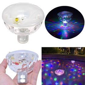 Плавающий под водой LED Дискотека AquaGlow Light Show Плавание Бассейн Горячая ванна Спа Лампа