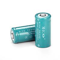 2шт meco 3.7V 1200mah reachargeable cr123a/16340 литий-ионный аккумулятор