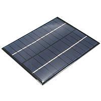 2W 12В 0-160ma поликристаллического мини-солнечные фотоэлектрические панели