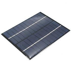 2W 12В 0-160ma поликристаллического мини-солнечные фотоэлектрические панели 1TopShop