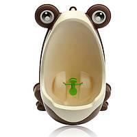 Милые дети лягушка горшок туалет дети писсуар мальчиков стоят пи тренер ванной ребенок малыш стильный стены повесить