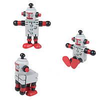 Educationa игрушки разнообразие деревянные трансформаторные роботы