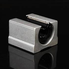 Machifit SBR16UU 16мм Открытый блок Слайд Алюминиевый линейный подшипниковый узел Линейный опорный подшипник - 1TopShop