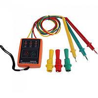 Sm852b 60V-600v AC 3 фазы наличие последовательности детектор индикатор тестера вращения метр с LED зуммер