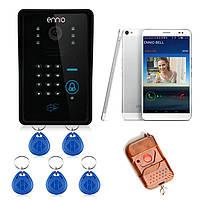 Эннио sywifi002ids WiFi беспроводной видео домофон система с функцией разблокировки карты и пульт дистанционного беспроводного управления