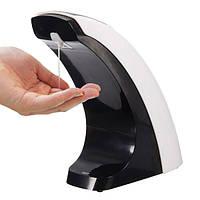 ЖК-дисплей автоматическое дезинфицирующее средство для рук автомат дозатор для жидкого мыла инфракрасный датчик