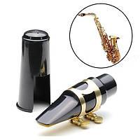 Альт-саксофон саксофон EB рупором пластика с металлической пряжкой крышкой