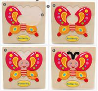 Младенец ребенок дети милые животные фрукты корабля деревянный раннего обучения образовательных головоломки игрушки