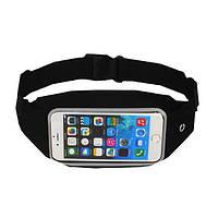Водонепроницаемый работает спорт сумка талии кошелек случае держатель ремня молния сумка для iphone 6 6s плюс
