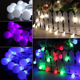 10м 100 LED земной шар шары фея строка свет лампы рождественские рождество партия декор 110v 1TopShop