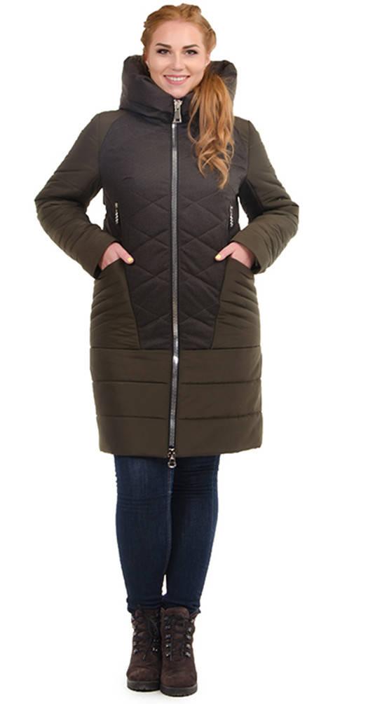 Куртка комбинировання хаки